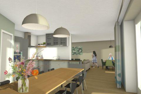 UPinterieur Sint- Annaland Keuken Impressie BG